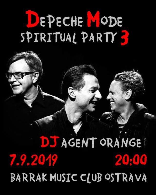 Plagát: Depeche Mode Spiritual party 3