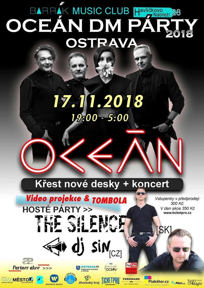 Ostrava: Oceán DM Párty 2018 Ostrava