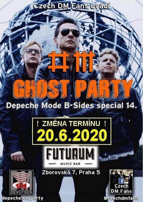 Praha: DM B-Sides Ghost Party