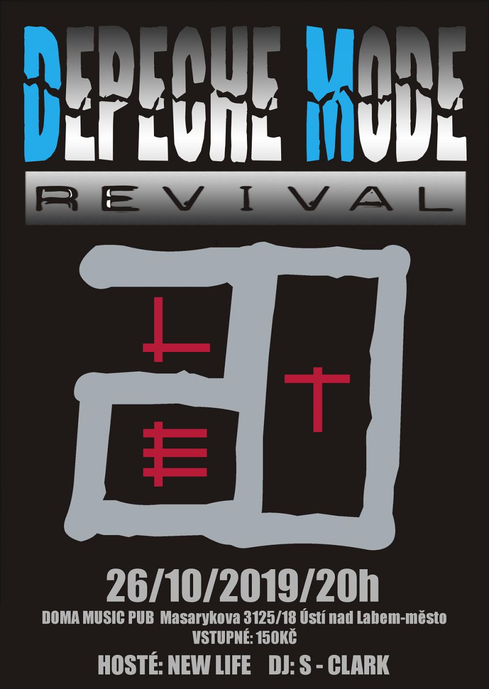 Ústí nad Labem: Depeche Mode Revival - 20 let