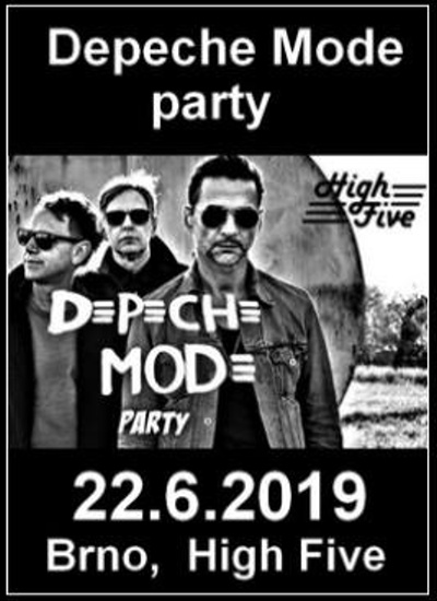 Brno: Depeche Mode Party