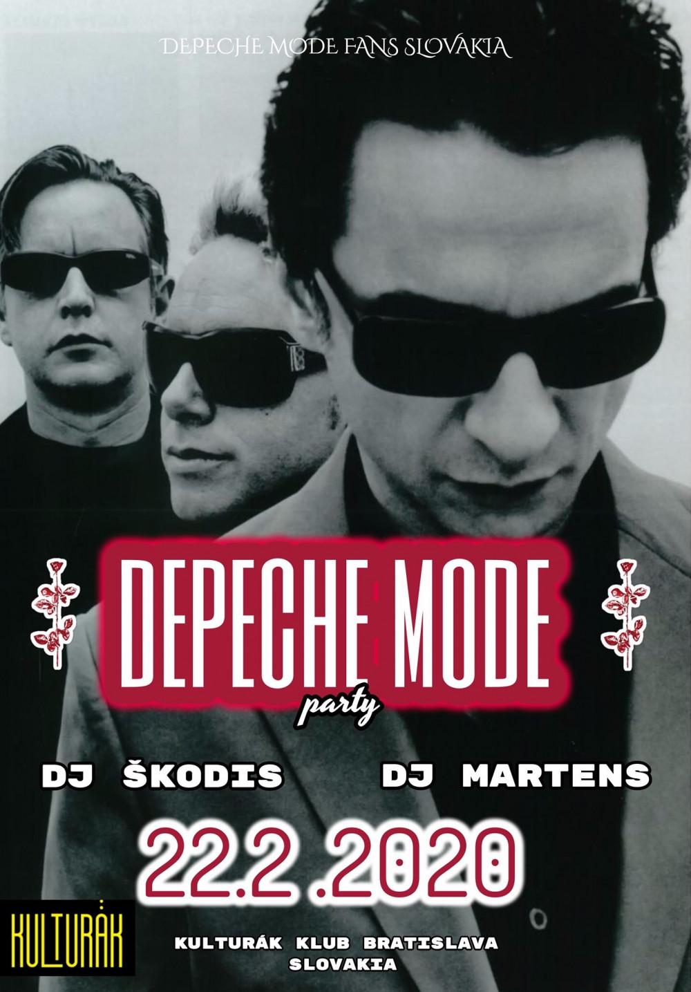 Bratislava: Depeche MODE party