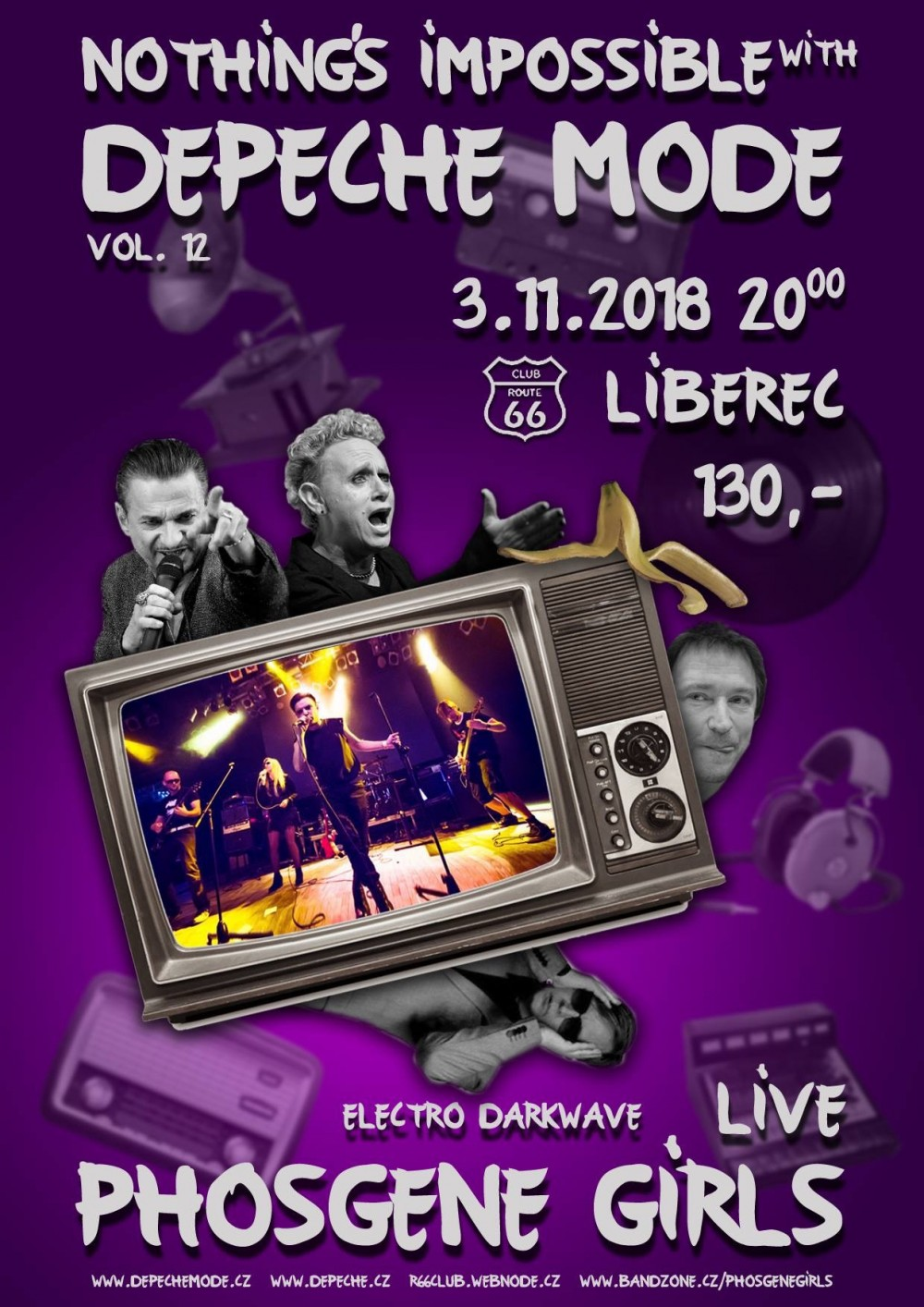 Liberec: Depeche Mode Nothing's Impossible with Vol. 12