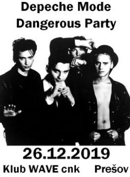 Plagát: Depeche Mode Dangerous Party