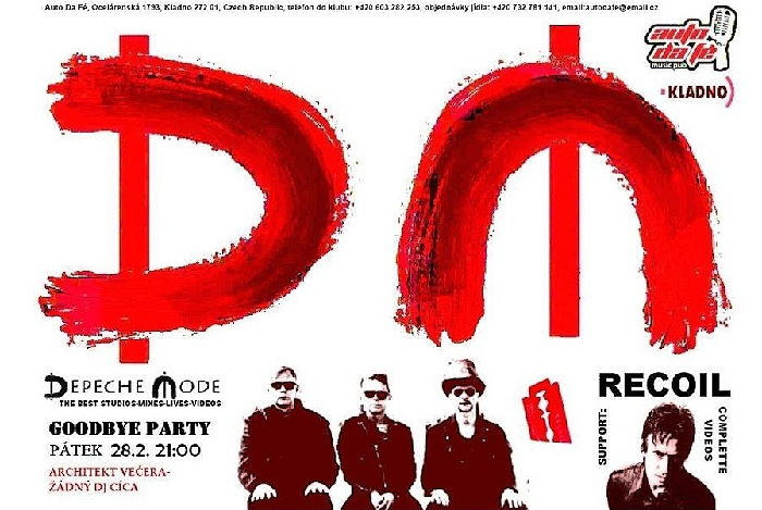 Kladno: Depeche Mode The Best Of Goodbye Party