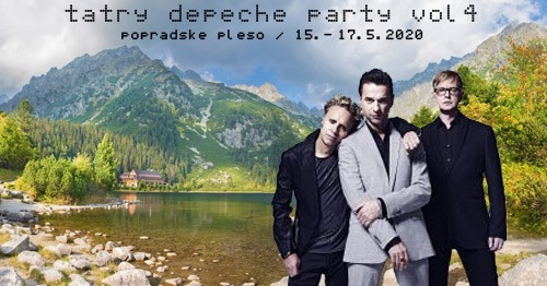 Plagát: Depeche mode Party - Tatry vol. 4