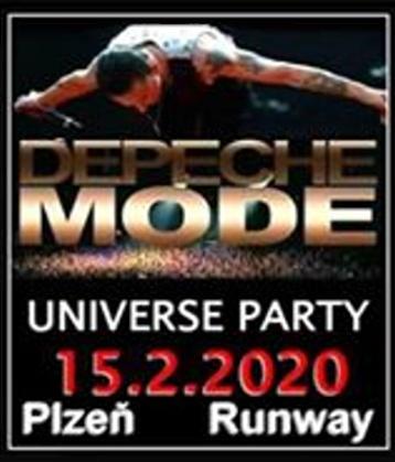 Plagát: Depeche Mode Universe párty