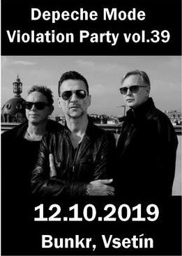 Plagát: Depeche Mode Violation party vol.39