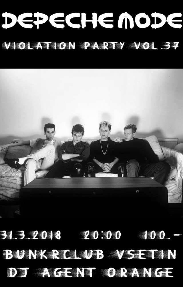 Vsetin: Depeche Mode Violation party vol.37