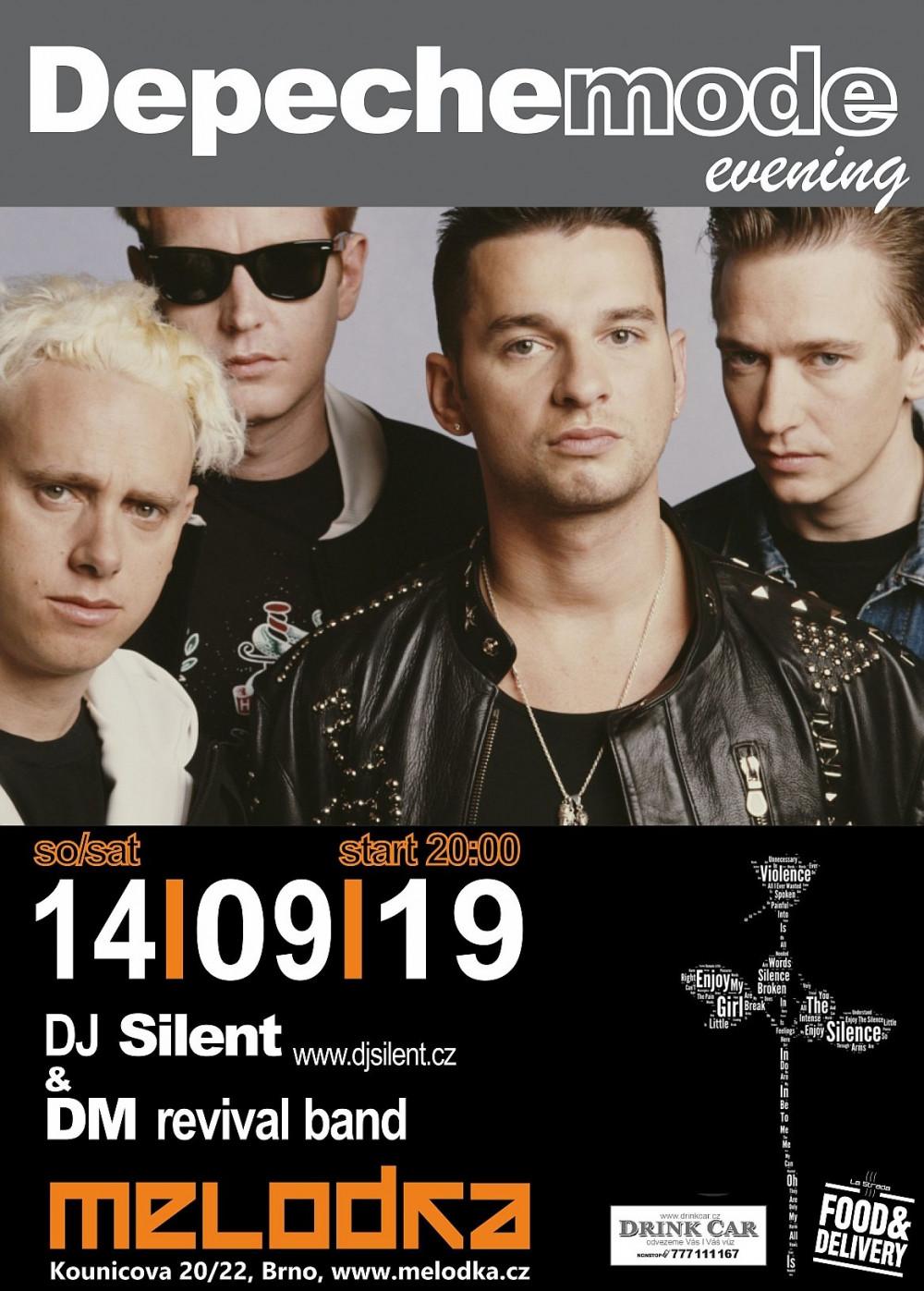 Plagát: Depeche Mode Evening