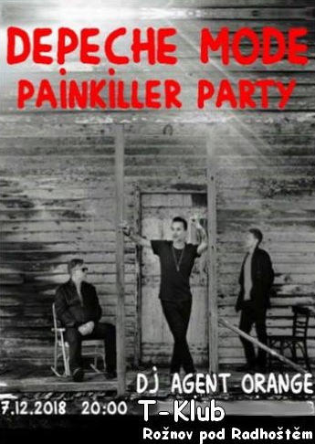 Plagát: Depeche Mode Painkiller Party