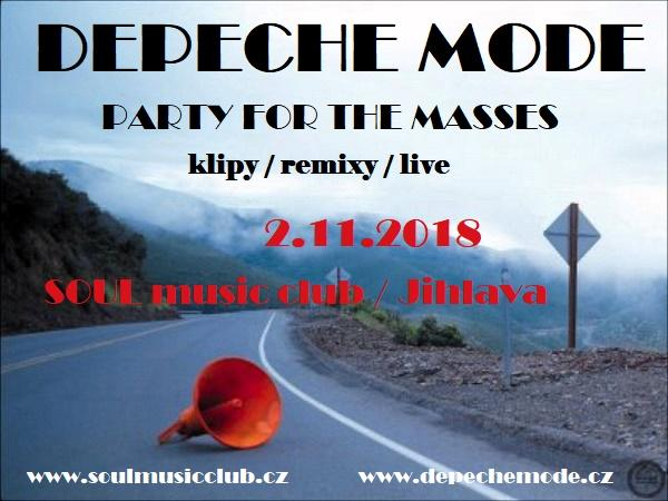 Jihlava: Depeche Mode party For The Masses