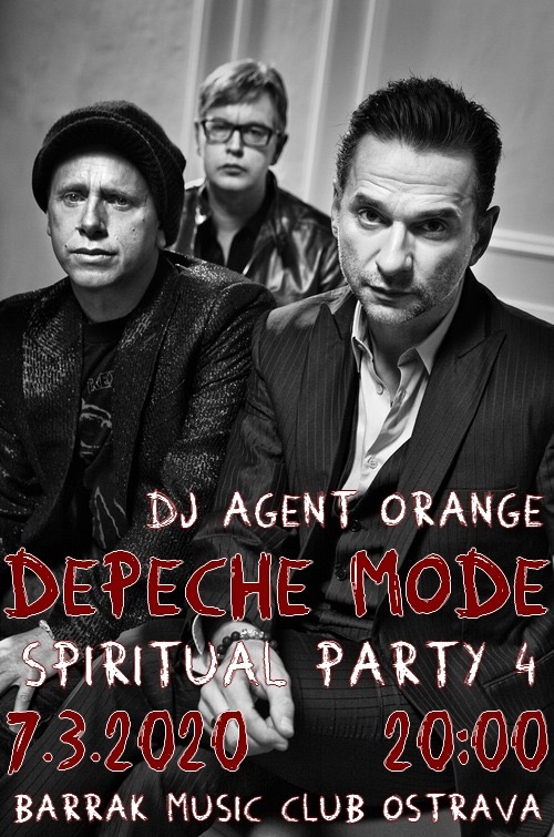 Plagát: Depeche Mode Spiritual party 4