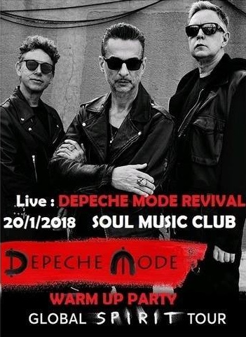 Jihlava: Depeche Mode Warm up party