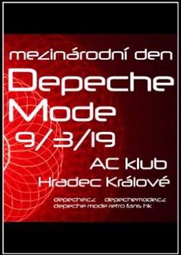 Plagát: Mezinárodní den Depeche Mode