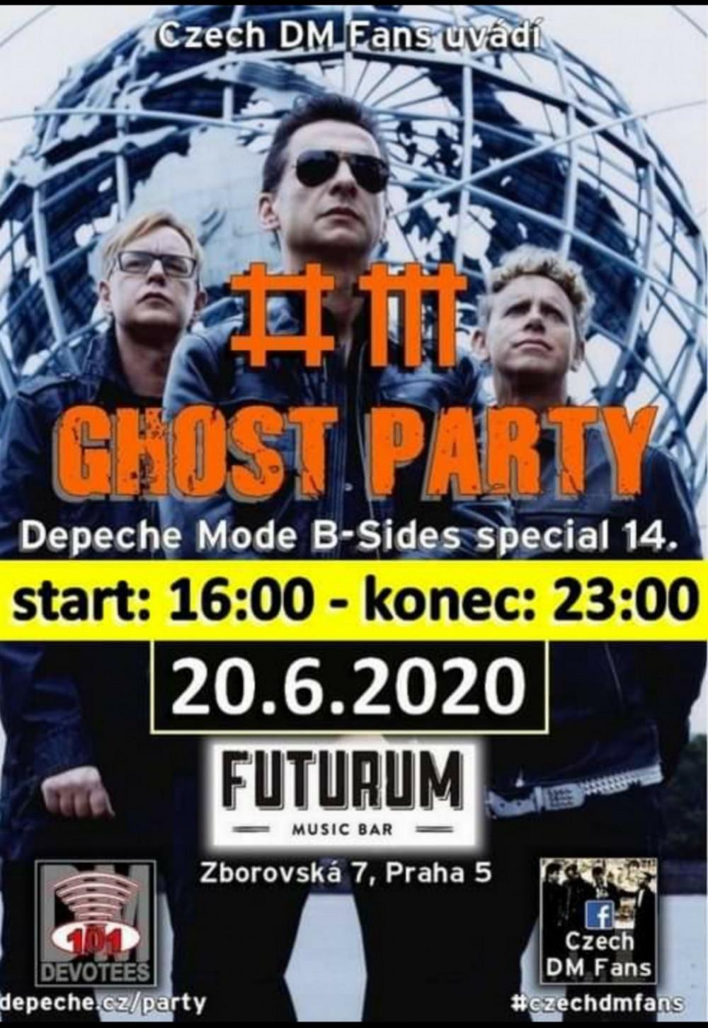 Plagát: DM B-Sides Ghost Party