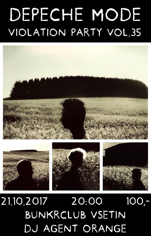 Vsetín : Depeche Mode Violation party vol.35