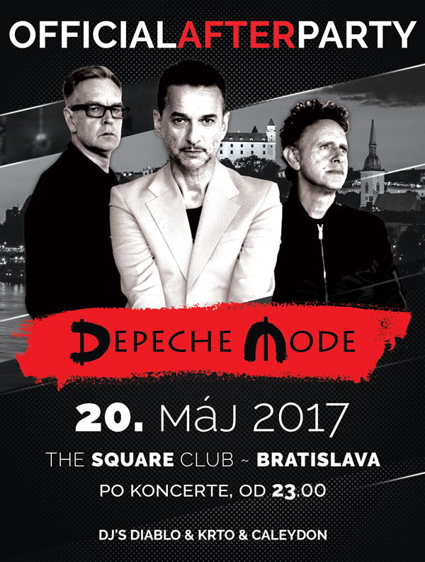 Plagát: Depeche Mode Global Spirit Tour Official AFTER PARTY