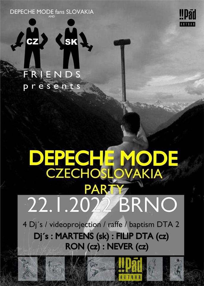 Brno: Depeche Mode CzechoSlovakia party