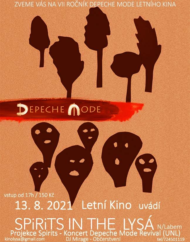 Lysá nad Labem: Depeche Mode Live in SPIRIT Party