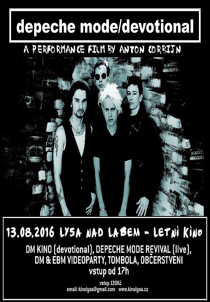Plagát: Depeche Mode Devotional Party