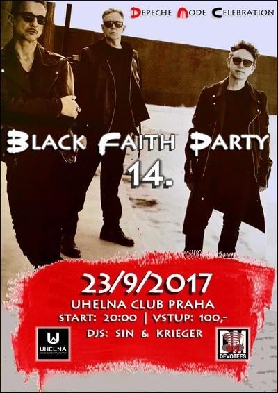 Praha: Depeche Mode Black Faith Party 14.