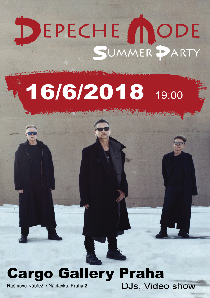 Plagát: Depeche Mode Summer Party
