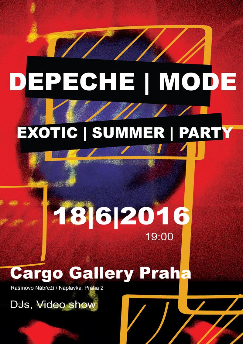 Plagát: Depeche Mode Exotic Summer Party