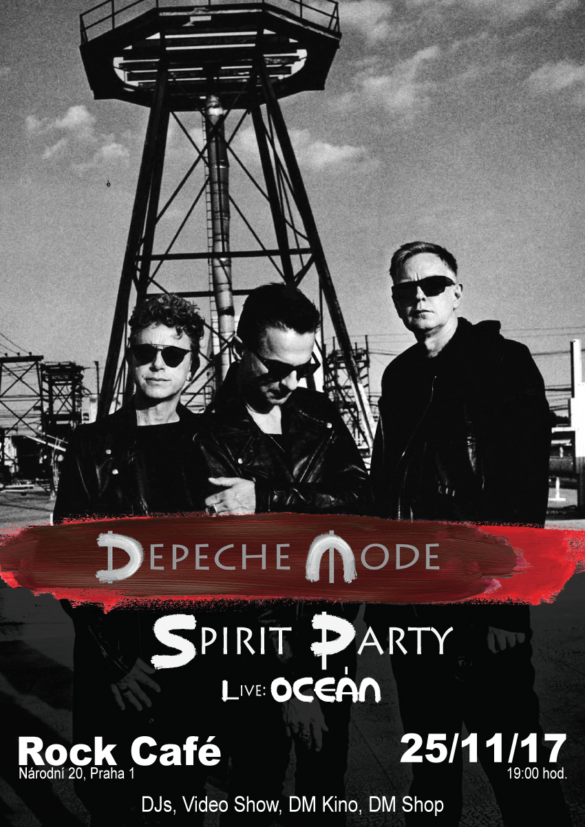 Praha: Depeche Mode Spirit Party