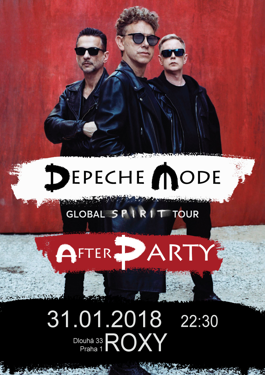 Praha: Depeche Mode Global Spirit Tour - Official After Party