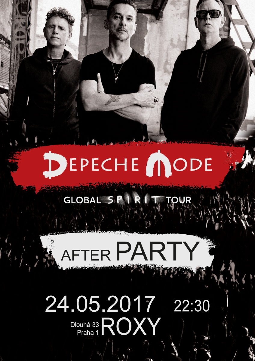 Plagát: Depeche Mode Global Spirit Tour - Official After Party