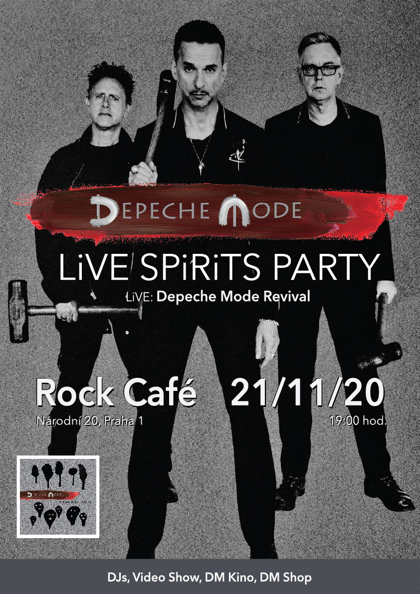 Praha: Depeche Mode LiVE SPiRiTS Party