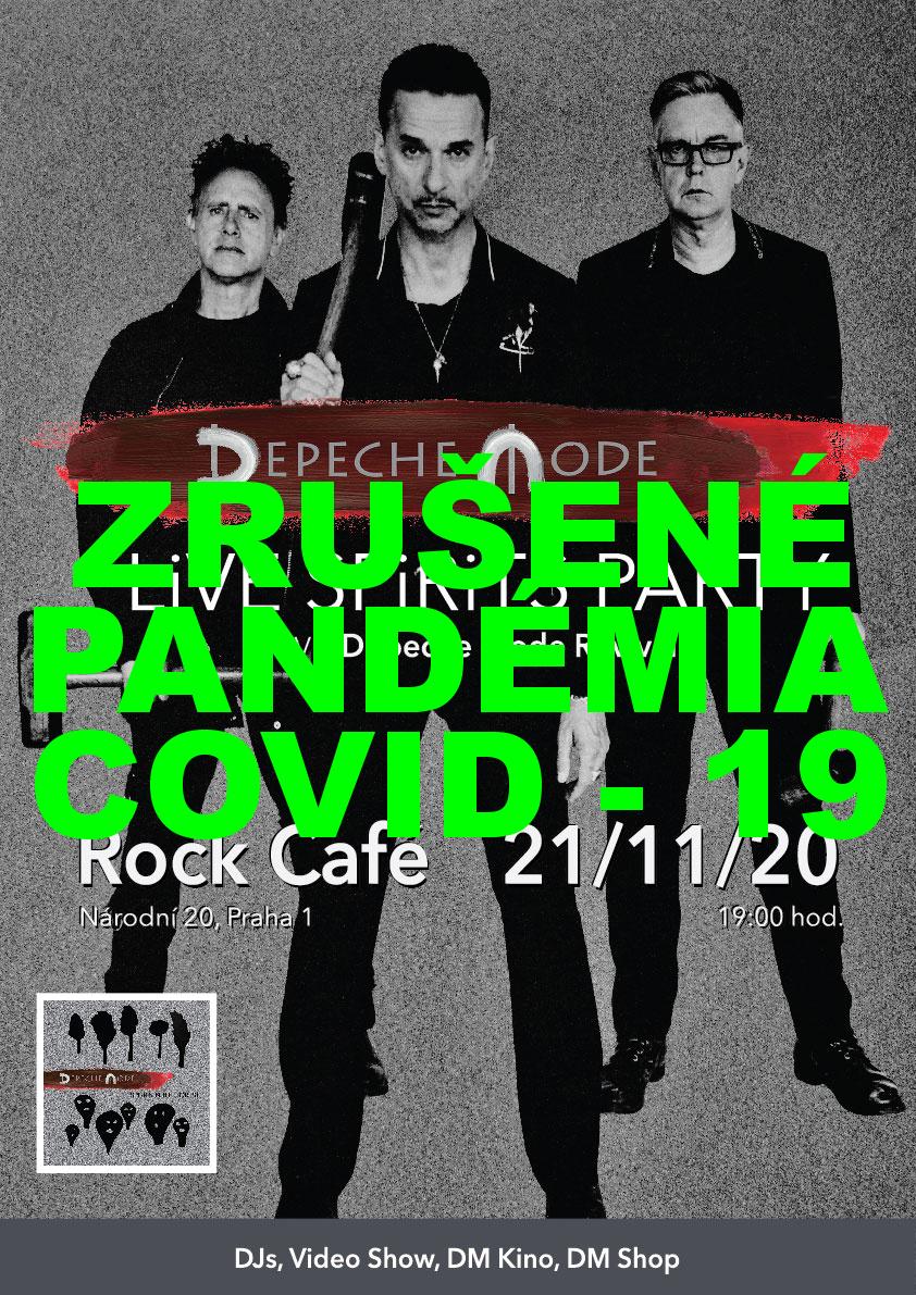 Plagát: Depeche Mode LiVE SPiRiTS Party - ZRUŠENÉ