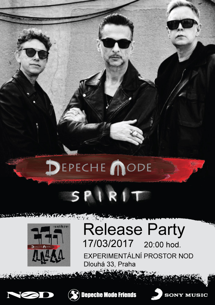 Plagát: Spirit Release Party