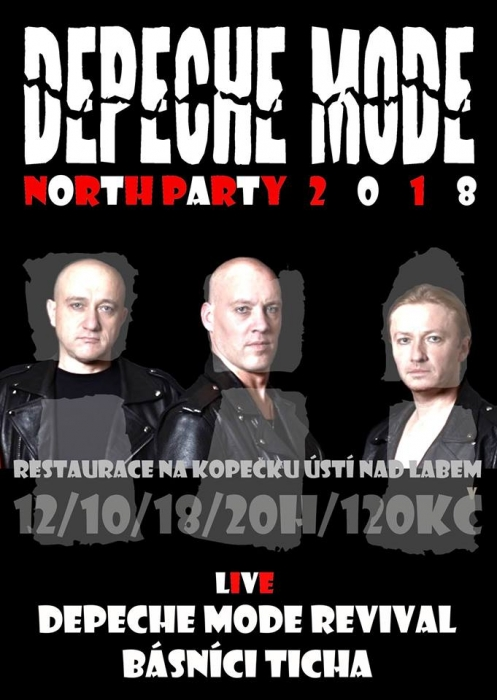 Plagát: Depeche Mode NORTH PARTY 2018