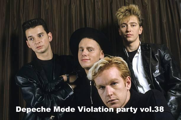 Vsetín: Depeche Mode Violation party vol.38
