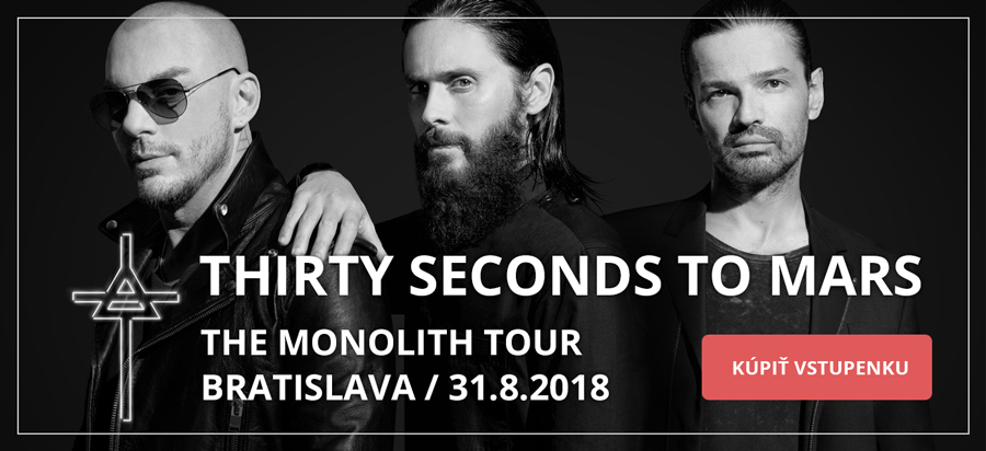Thirty Seconds to Mars, 31.august, 2018, Bratislava